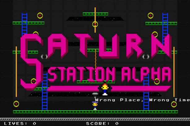 Jumpman Forever - Saturn Station 1, Red's First Level