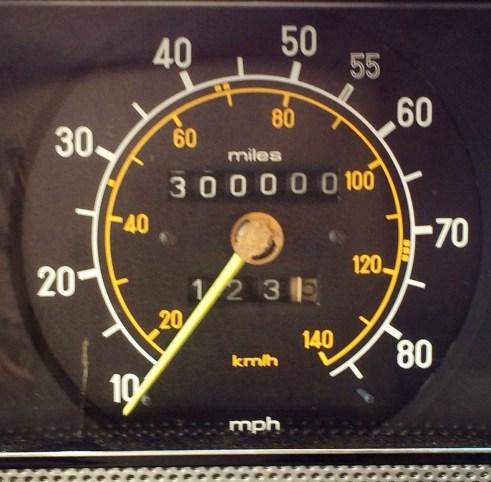 The Joker hit 300,000 Miles