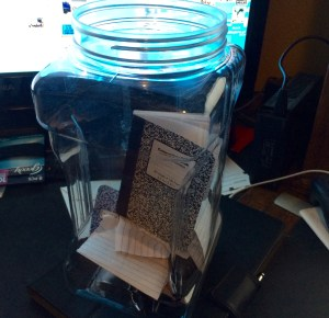 The 2015 New Year's Jar