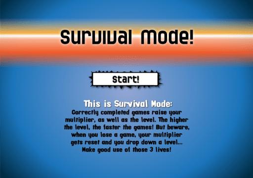Survival Mode!