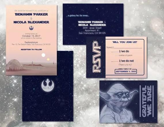 Awesome Star Wars Wedding Ideas Mid
