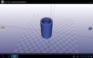 3D model for the replacement clamp