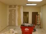 Future dark room (left) breaker closet (middle) HVAC closet (right)