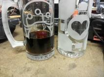 Claudio's Metroid and Portal Companion Cube mug