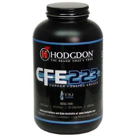 Hodgdon Cfe223 Smokeless Powder 1 Lb By Hodgdon