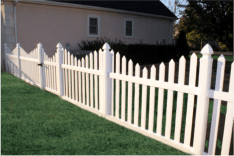 New York Style Picket Fence
