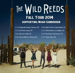 The Wild Reeds Will Be Performing at Way Over Yonder Alongside Massive Talents Lucinda Williams, Jackson Browne, and Local Natives
