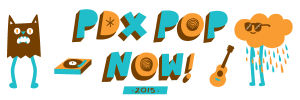 The 12th Annual PDX Pop Now! Festival Returns July 24-26 2015 at AudioCinema in Portland, OR.