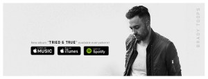 Brady Toops Delivers Authentic Vulnerability on I Can't Make You Love Me
