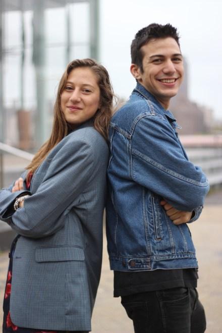 Matteo Scher and Stella Rose