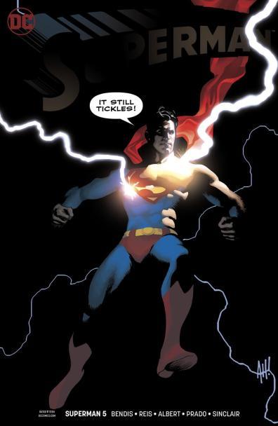 Superman vol 5 issue 5 adam hughes cover