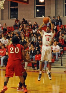 Huntingdon Senior Forward Austin Hill; Photo courtesy Huntingdon SID