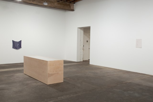 Its chiming in Normaltown, installation view. Gallery 1: Seventh Impression. Left to right: outside Time; Smallland; soit. All works 2012.