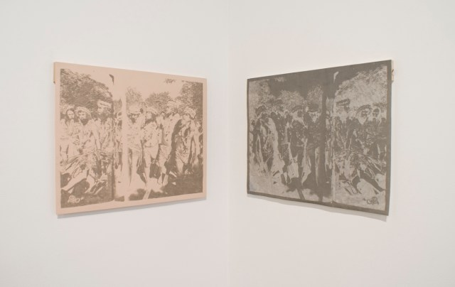 Hokule'a, Hokule'a, 2009. Graphite transfer drawings on paper. Each 18 x 24 inches.