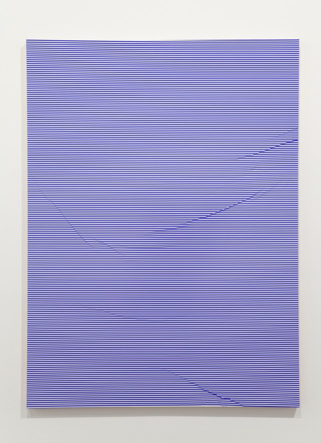 Untitled, 2009. Vinyl on aluminum. 36 x 48 x 1 inches.