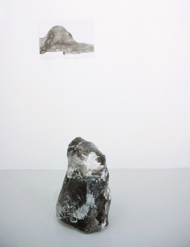 essica Jackson Hutchins, Self-portrait as a troll, 2002. Collage and ink on paper, papier maché and paint.