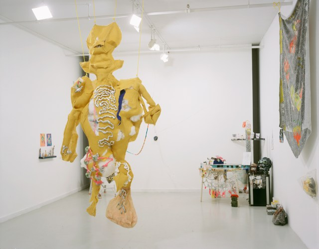 Fight Worms, installation view.