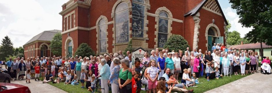 175th Anniversary Group Photo of congregation