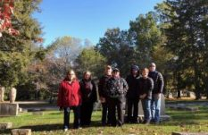Lexington Cemetery History Walk group photo
