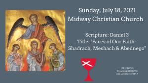 Sermon Banner-July 18, 2021