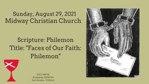 Sermon Banner-August 29, 2021