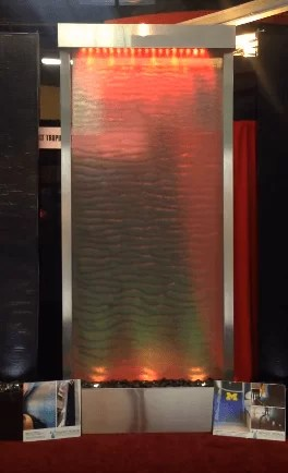 Mesh Water Wall by Midwest Tropical