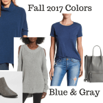 Fall 2017 Colors: Gray and Blue