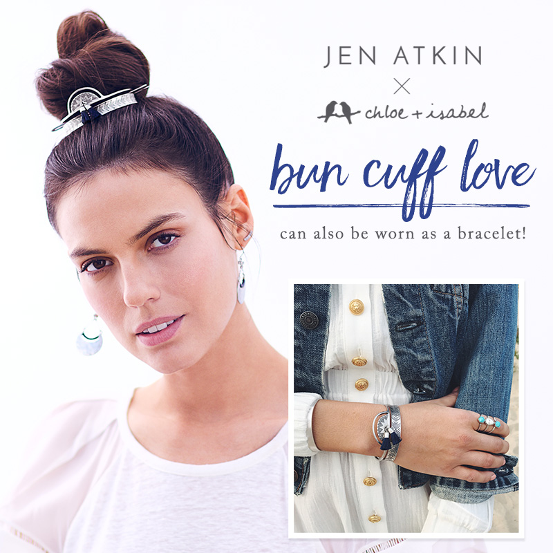 JEN ATKIN x C + I HAIR ACCESSORIES