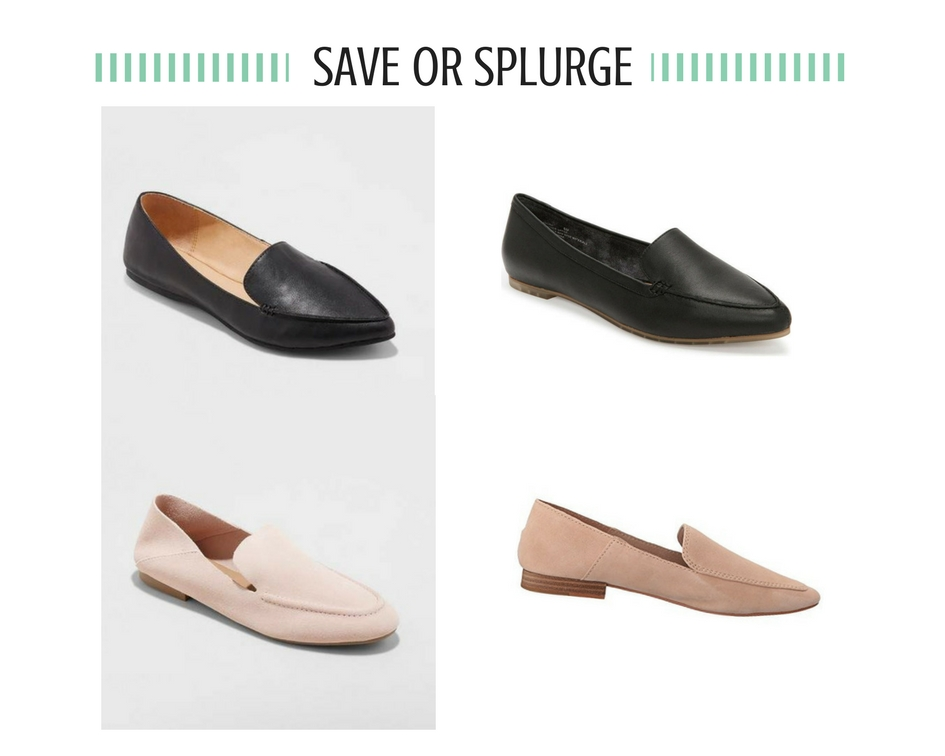 43c1ef4c903 ... spring when the weather is still cool. My favorite of the loafers shown  below is the blush pair from Target. I have heard a lot of good things  about ...