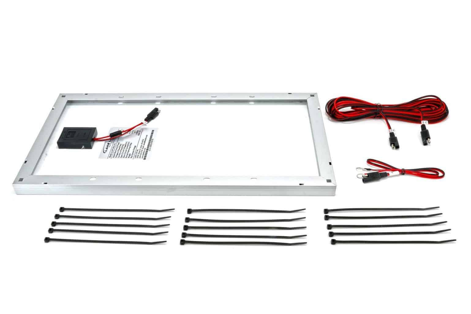 20 Watt 24 Volt Boat Lift Solar Charging Kit Midwest