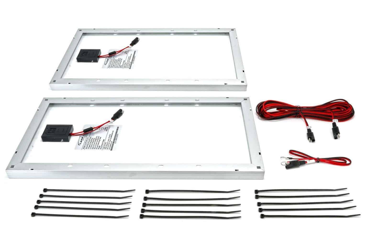 40 Watt 24 Volt Boat Lift Solar Charging Kit Midwest Marine Supplies