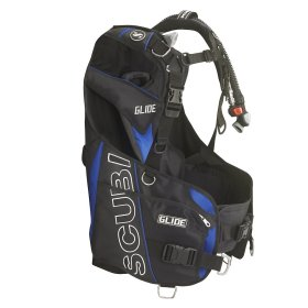 Scubapro Glide Men's BCD Blue w/ Power Inflator