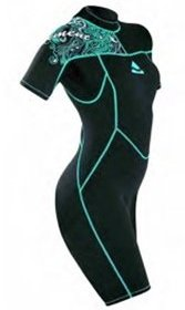 SUBGEAR (SCUBAPRO) ELEMENT SHORTY WETSUIT – WOMEN SMALL CLOSEOUT SPECIAL!
