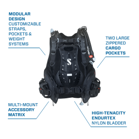 Scubapro Hydros X Men's BCD, with Power Inflator