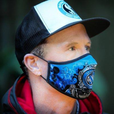 scubapro covid mask