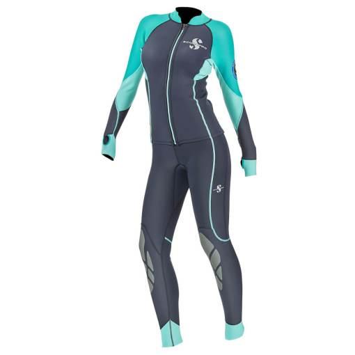 Scubapro everflex 1.5 long sleeve top and pants women