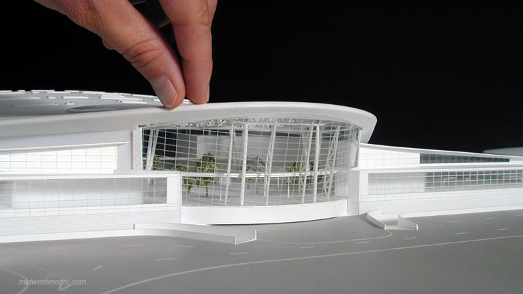 Indianapolis Int L Airport Model Midwest Studios