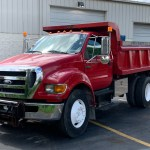 Used 2006 Ford F650 Super Duty Dump Truck Cat Diesel For Sale Sold Midwest Truck Group Stock 16794