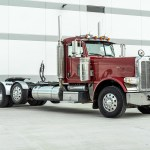 Used 2009 Peterbilt 389 Day Cab Glider Steerable Tri Axle Cummins 500hp For Sale Sold Midwest Truck Group Stock 17343
