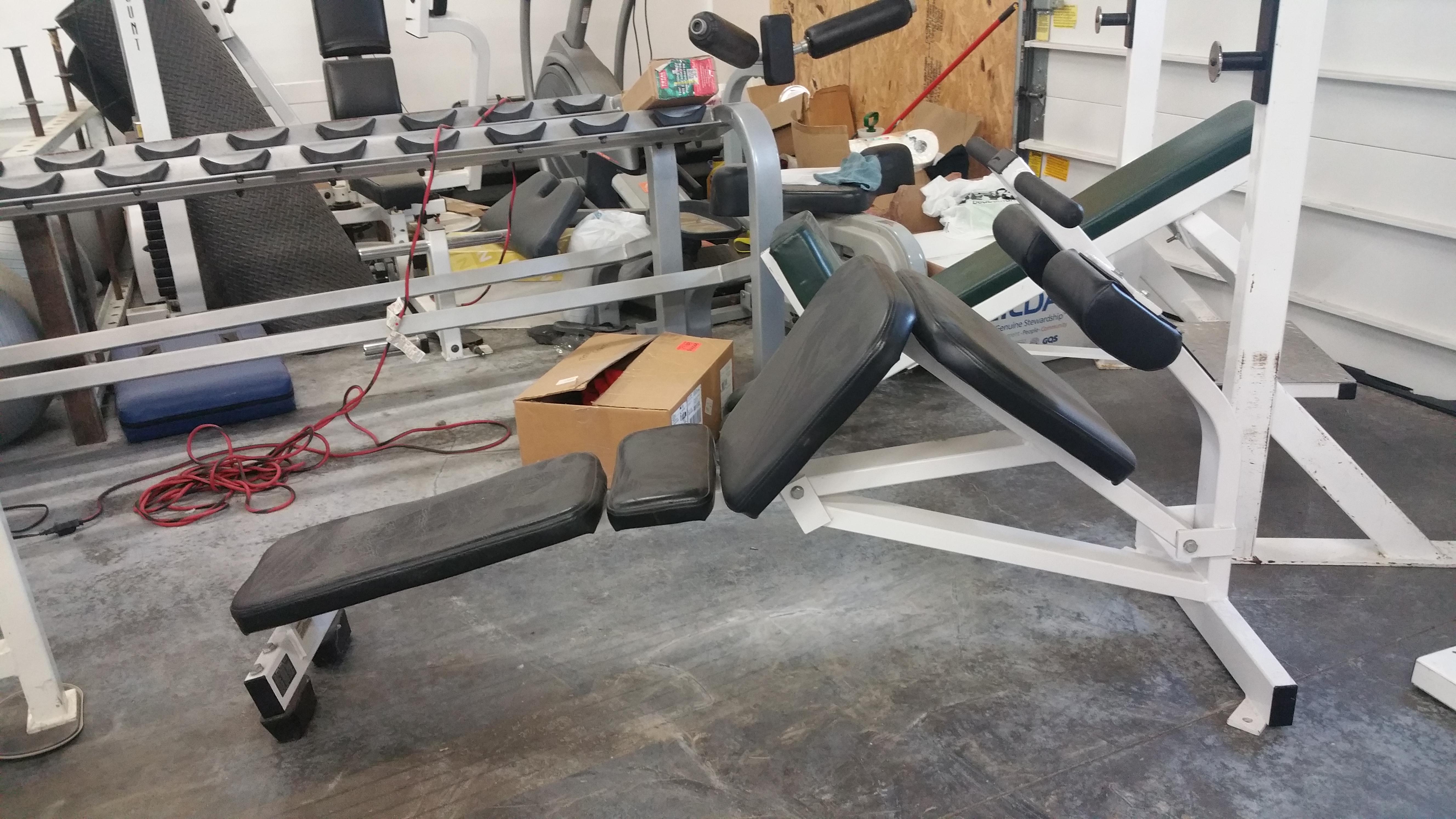 Midwest Used Fitness Equipment Hammer Strength Decline