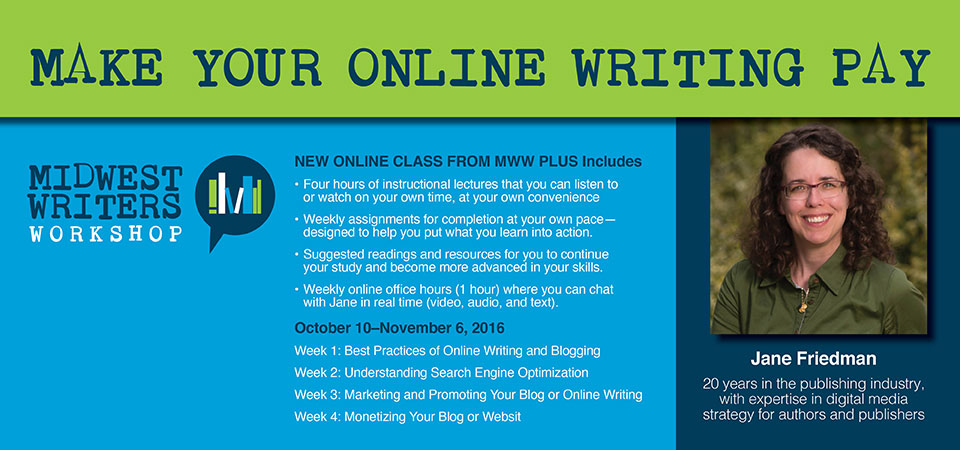 online nonfiction writing courses