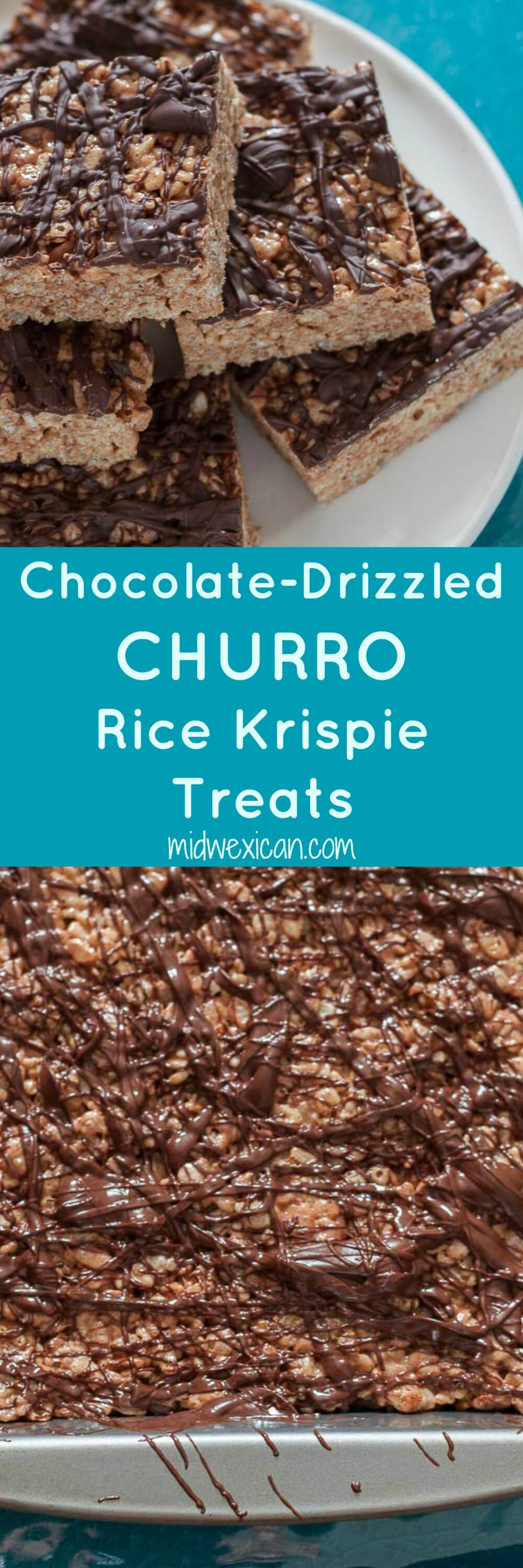 Rice Krispie treats that taste like churros!