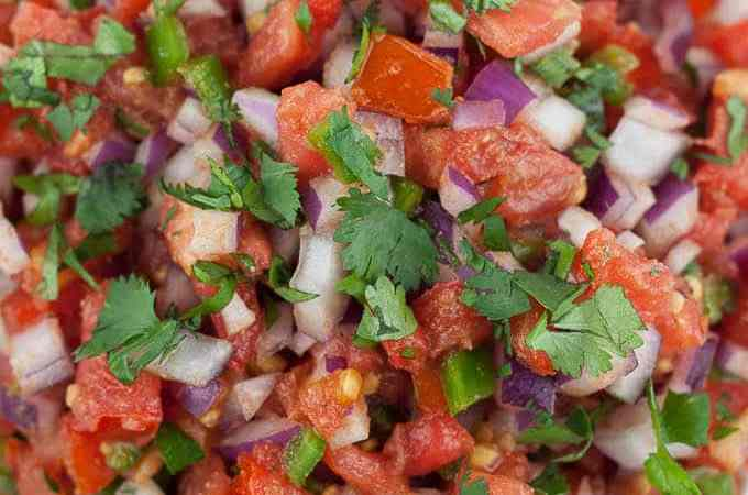 spicy pico de gallo