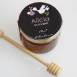cadeau invité bapteme personnalisé, petit pot de miel bapteme, mini pot de miel bapteme, pot de miel bapteme