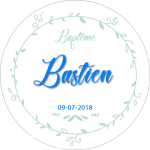 cadeau pot de miel baptême