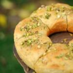 Pane di kamut ripieno (cottura nella pentola fornetto)