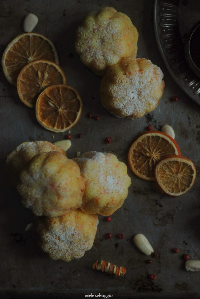 tortini mandorle carote e arancia 1
