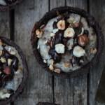 Tartellette ricotta, nocciole e cioccolato