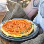 Tarte tatin carote e rosmarino