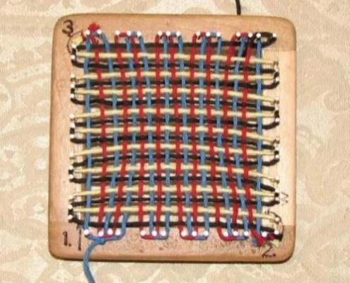 Pin Loom Weaving Tutorial